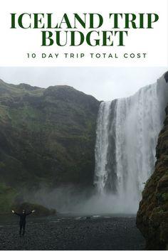 Iceland trip budget