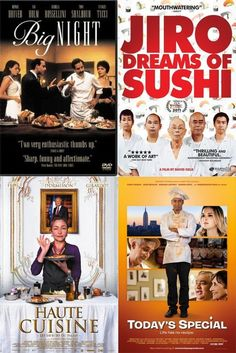 10 Great Food Movies to Stream on Netflix Instant Tonight