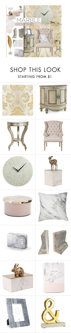 """""""Marble Essentials"""" by ellergy ❤ liked on Polyvore featuring interior, interiors, interior design, home, home decor, interior decorating, Crestview Collection, Orient Express Furniture, Broste Copenhagen and Gingko Electronics"""