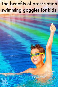 The benefits of prescription swimming goggles for kids.  Why any child that wears glasses will really benefit from prescription swimming goggles.  They are transformational