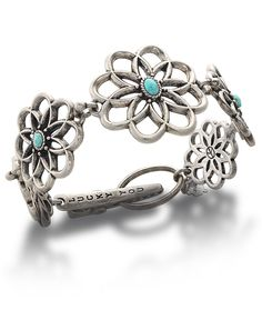 Lucky Brand Bracelet, Carved Flower - Fashion Jewelry - Jewelry & Watches - Macy's
