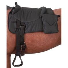 Saddle Pads 183377: Tough 1 Polypropylene 600D Bareback Pad W/ Accessory Bags One Size Black -> BUY IT NOW ONLY: $89.34 on eBay!