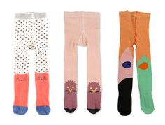 Cute, colorful tights for kids