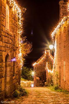 Le rêve de Noël à Locronan en Finistère  | Finistère | Bretagne | #myfinistere #locronan #lokorn