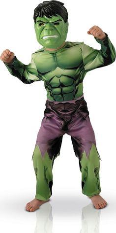 Este disfraz de Hulk es perfecto para fomar parte de Los Vengadores en Carnaval o en cualquier otra fiesta de disfraces.