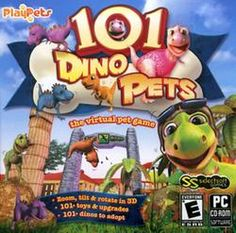 101 Dino Pets Virtual Pet PC Game