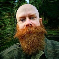 Beard-Styles-for-Bald-Men-Bald-Men-with-Beards <><> More info: Bald Men With Beards, Bald With Beard, Red Beard, Great Beards, Long Beards, Ginger Beard, Awesome Beards, Ginger Men, Bald Man