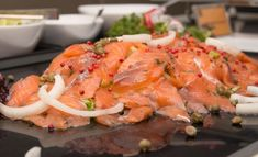 Fish Recipes, Great Recipes, Smoked Salmon, Bruschetta, Sushi, Nom Nom, Food And Drink, Turkey, Baking