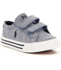 Polo Ralph Lauren Boy´s Slater EZ Chambray Denim Sneakers