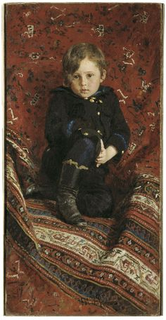 Description Ilya Repin - Portrait of Yury Repin, the Artist's Son.jpg