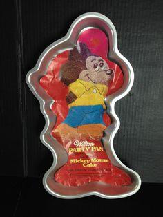 Mickey Cake Pan Directions
