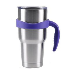 PP Tumbler Mug Handle For Yeti Rambler 30 Ounce Heat Insulation Cup Drinkware Holder Portable Travel Vacuum Flask Holder