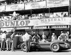 Juan Manuel Fangio Maserati 250F GP Pescara 1957