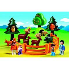 """carolann : Playmobil 1.2.3. - Le parc d'animaux et famille - 6772 - Playmobil - Toys""""R""""Us"""