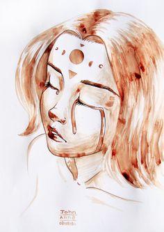 Moonthlies by John Anna #menstrual #art