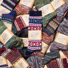 """Who's ready for some socks? We just received our newest shipment from AnonymousIsm. Tons of great fabrics, designs, and colors, all entirely made in…"""
