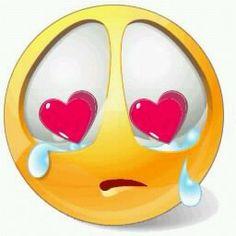Sad+Smiley+in+Love. Smiley Emoji, Big Emoji, Emoji Love, Smiley Symbols, Emoji Symbols, Emoticon Faces, Funny Emoji Faces, Smiley Faces, Images Emoji
