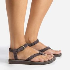 The nicest pair of tourist/vacation sandals I've ever seen...  Original Sandal Suede Braid