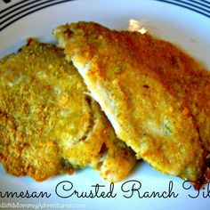 It never ceases to amaze me how fast my kids gobble up this yummy, healthy, baked-not-fried dish. Tilapia is a very light tasting fish that has a nice texture and with the right preparation, will satisfy even the pickiest little palate.
