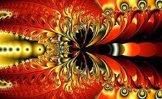 Phoenix Feathers - Digital Art by Betsy Jones