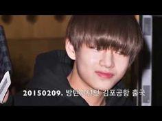 20150209 방탄소년단(BTS) 김포공항 출국 현장 - YouTube