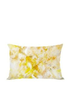 61% OFF Oliver Gal by One Bella Casa Bird Song Boudoir Pillow, Yellow Multi