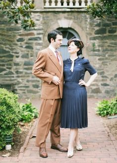 1940s style engagement photo session to be held at an observatory. Griffith if possible!