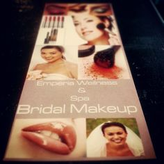 #emperiawellness #spreadinghealth #bliss #relaxation #weddings #makeup #calltoday #professionals #certified