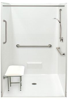 Freedom Accessible Showers Barrier Free Handicap Shower Stalls For Your Home