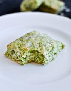 Pesto Parmesan Scones