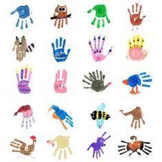 Handprints PDF - Handprints Princess – one of 38 handprint figures from the Handprints PDF - Daycare Crafts, Baby Crafts, Toddler Crafts, Preschool Crafts, Diy Crafts For Kids, Projects For Kids, Art For Kids, Art Projects, Hand Art Kids