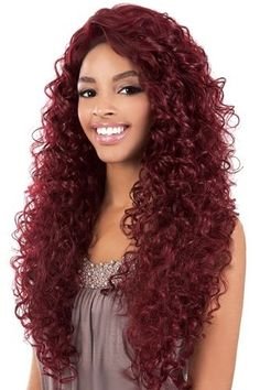 These synthetic lace front wigs, lace wigs, human hair wigs, glueless cap wigs, come in a variety of styles and colors. Synthetic Lace Front Wigs, Synthetic Wigs, Indian Hair Weave, Long Curls, Long Wigs, Strawberry Blonde, Love Hair, Human Hair Extensions, Human Hair Wigs