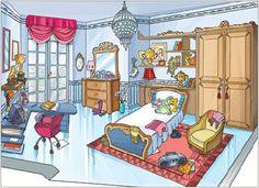 Cornelia room romantick style