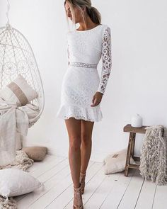 White Lace Homecoming Dresses, Homecoming Dresses With Sleeves, Homecoming Dresses White, Homecoming Dresses Lace Homecoming Dresses 2018 Party Dresses With Sleeves, Sexy Dresses, Short Dresses, Prom Dresses, Evening Dresses, Mini Dresses, Ladies Dresses, Spring Dresses, Casual Dresses