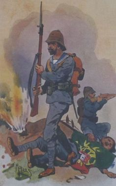 colonial portuguese infantry angola - Google Search