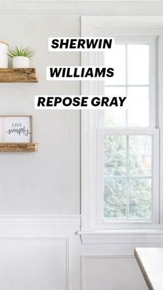 Off White Paint Colors, Light Paint Colors, Best Gray Paint Color, Greige Paint Colors, Light Gray Paint, Best White Paint, Wall Paint Colors, Interior Paint Colors, Paint Colors For Living Room