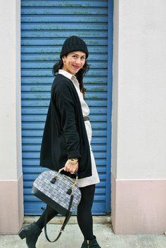 Norbyah Nolasco with our Lattice Handbag