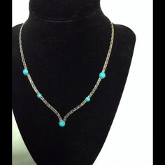 Vintage sarah coventry pearl teardrop by margsmostlyvintage 1100 vintage sarah coventry necklace gorgeous vintage necklace silver tone and turquoise colored stones is would aloadofball Images