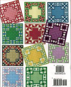 Quilt Block Matten Kunststoff Leinwand von grammysyarngarden