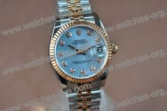 Womens Rolex Watches Two Tone Rose Gold 1