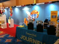 The Awana booth at the Children's Pastors' Conference (CPC)