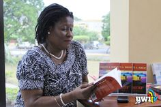 """Dr. Paulette Ramsay at her Book Reading and Signing- """"October Afternoon"""""""