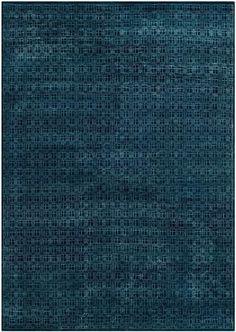 Rug KNS927A - Safavieh Rugs - Kensington Rugs - Wool & Bamboo Silk Rugs - Area Rugs - Runner Rugs