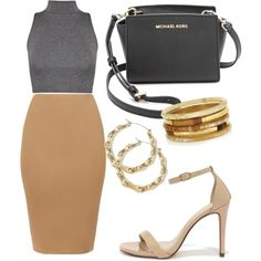 Untitled #94 by mazzo-sofia on Polyvore featuring polyvore fashion style MICHAEL Michael Kors Ashley Pittman