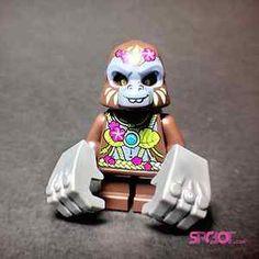 Lego® Chima G'Loona Girl Gorilla Minifigure from Gorzan Striker 70008 SHIPS FAST from www.spcbot.com #lego #afol #legoChima #chima #minifigure #legendsofchima #spcbot @spcbot