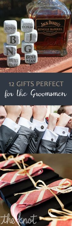 12 Gifts Perfect for the Groomsmen