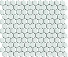 Keram.mozaika MIX červená 2,3x2,3