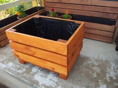 Tree Planter Box DIY Planter Boxes