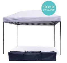 Pop-up Canopy Tent 10 x 10 Feet by Punchau