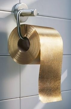 Worlds Most Expensive Toilet This Incredibly Luxury Intensive - Gold flake toilet paper